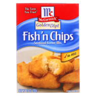 Golden Dipt Breading - Fish N Chips - Case Of 8 - 10 Oz