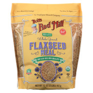 Bob'S Red Mill Organic Flaxseed Meal - Brown - Case Of 4 - 32 Oz