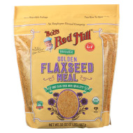 Bob'S Red Mill Organic Flaxseed Meal - Golden - Case Of 4 - 32 Oz