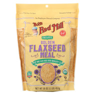 Bob'S Red Mill Organic Flaxseed Meal - Golden - Case Of 4 - 16 Oz