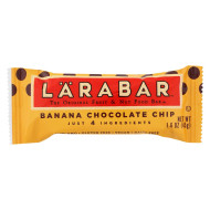 Larabar - Bar Banana Chocolate Chip - Case Of 16-1.6 Oz