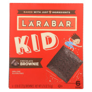 Larabar - Bar Kids Chocolate Brownie - Case of 8-6/.96 oz