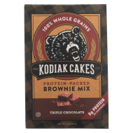 Kodiak Cakes - Brownie Mix Triple Chocolate - Case Of 6-14.82 Oz