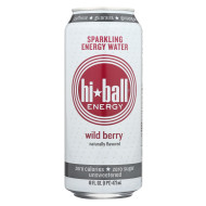 Hi Ball Energy Sparkling Energy Water - Wild Berry - Case Of 1 - 8/16 Fl Oz.