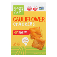 From The Ground Up Crackers - Cauliflower Nacho - Case Of 6 - 4 Oz.