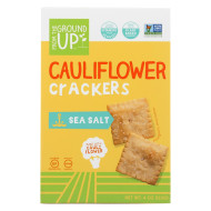 From The Ground Up Crackers - Cauliflower Original - Case Of 6 - 4 Oz.
