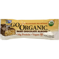 Nugo Nutrition Bar - Organic Dark Chocolate Almond - 1.76 Oz - Case Of 12