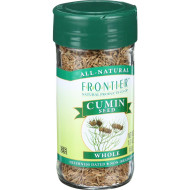 Frontier Herb Cumin Seed - Whole - Dewhiskered - 1.87 Oz