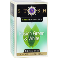 Stash Tea Green And White Fusion - 18 Tea Bags - Case Of 6