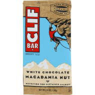Clif Bar - Organic White Chocolate Macadamia Nut - Case Of 12 - 2.4 Oz