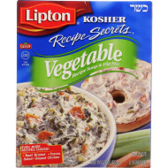 Lipton Soup And Dip Mix - Recipe Secrets - Vegetable - Kosher - Packet - 2 Oz - Case Of 12