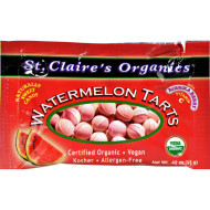 St Claire's Organic Watermelon Tart Pouches - Case of 12 - .56 oz