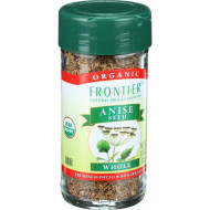 Frontier Herb Anise Seed - Organic - Whole - 1.44 Oz