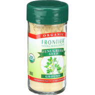 Frontier Herb Fenugreek Seed - Organic - Ground - 2.24 Oz