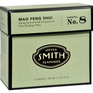 Smith Teamaker Green Tea - Mao Feng Shui - 15 Bags