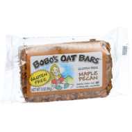 Bobo's Oat Bars - All Natural - Gluten Free - Maple Pecan - 3 oz Bars - Case of 12
