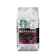 Starbucks Espresso Roast Dark Roast Ground Coffee, 12-Ounce Bag
