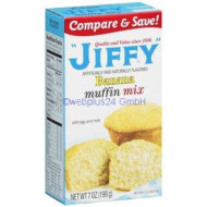 Jiffy Banana Muffin Mix 7oz