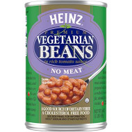 Heinz Vegetarian Beans In Rich Tomato Sauce, 16 Oz Can