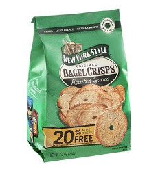 Chip Bagel Garlic -Pack of 12