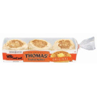 Thomas' Original Nooks & Crannies 6 ct English Muffins 12 oz