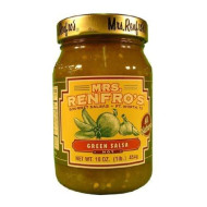 Renfro Fine Foods Salsa, Green, 16 Ounce (Pack Of 6)