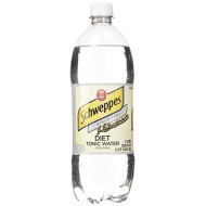 Schweppes Diet Tonic Water- 33.8 Fl Oz (Pack of 2)