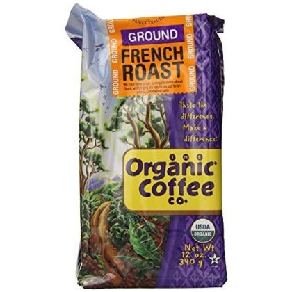 Organic French Roast Coffee, 12 Ounce - 6 per case.