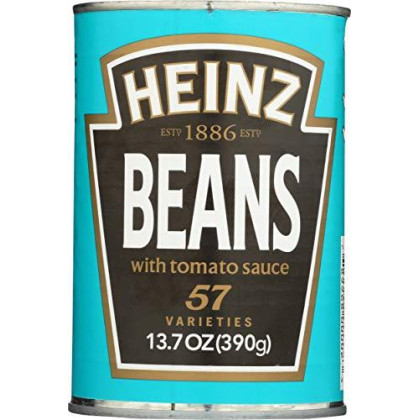 Heinz Baked Beans With Tomato Sauce, 13.7 oz