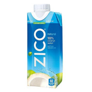 Zico Natural 100% Coconut Water Drink, No Sugar Added Gluten Free, 11.2 Fl Oz, 12 Pack