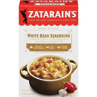 Zatarain'S White Bean Seasoning Mix, 2.4 Oz