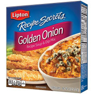 Lipton Recipe Secrets Soup And Dip Mix, Golden Onion 2.6 Oz (Pack Of 12)