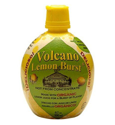 Dream Foods International Volcano Lemon Burst, 6.7-Ounce Containers (Pack of 12)