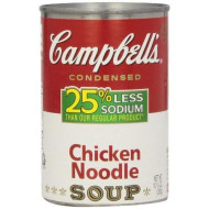 Campbell'S Low Sodium Chicken With Noodle, 10.75-Ounce Cans (Pack Of 12)