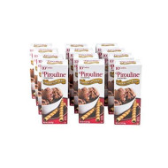 Pirouline Chocolate Lined Rolled Wafers, Chocolate Hazelnut, 2.5Oz Cartons (Pack Of 12)