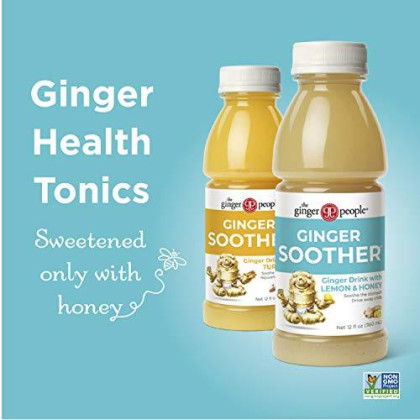 The Ginger People Ginger Soother 12 Oz (Pack Of 24)