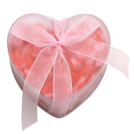 Wrapables Scented Hearts Bath Confetti