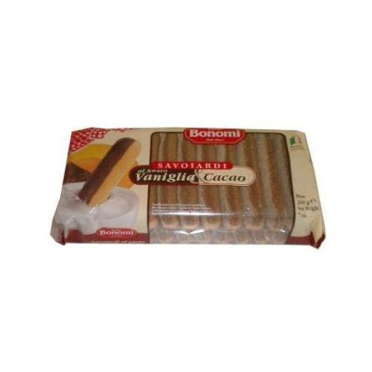 Lady Fingers With Vanilla And Cocoa (Bonomi) 200G