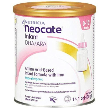 Neocate Infant With Dha And Ara, 14.1 Ounce / 400 Gram (1 Can)