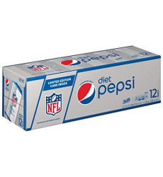 Diet Pepsi Cola, 12 Ct, 12 Oz Cans (Packaging May Vary)