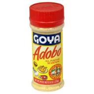 Goya Pasta Inc. Adobo Con Pimiento with Pepper, 8 Ounce (Pack of 24)