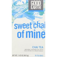 Good Earth Sweet Chai of Mine Chai Tea, 18 Tea bags