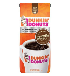 Dunkin' Original Blend Medium Roast Ground Coffee, 12 Ounces