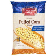 Arrowhead Mills Cereal, Puffed Corn, 6 Oz.