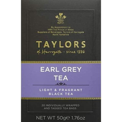 Taylors of Harrogate Earl Grey, 20 Teabags