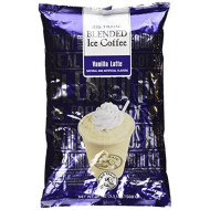 Big Train Blended Ice Coffee Iced Coffee Mix Vanilla Latte 3lb Bulk Bag - Single Bag, Packing may vary
