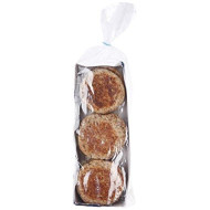 Food For Life, Genesis 1:29, Sprouted 100% Whole Grain & Seed English Muffins, Organic, 16 oz (Frozen)