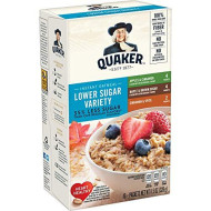 Quaker, Instant Oatmeal, Variety Pack, 10 Ct