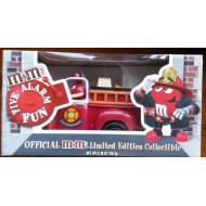 Limited Edition M&M Firetruck Candy Dispenser