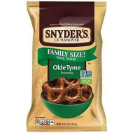 Snyder'S Of Hanover Pretzels, Olde Tyme, 16 Ounce Family Size (Pack Of 12)